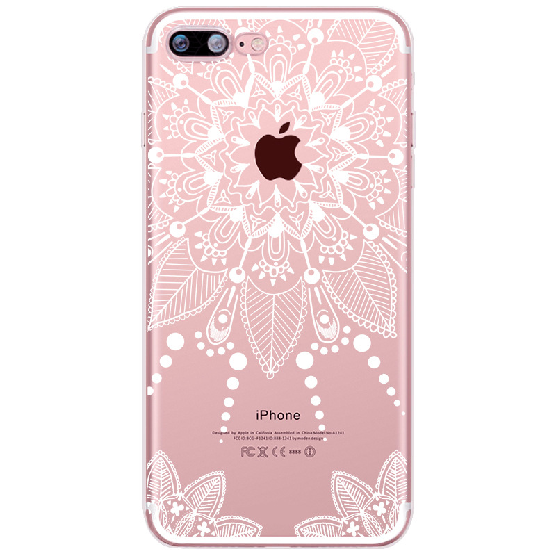 Mandala Lace Case for iPhone 4