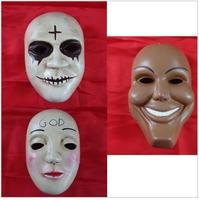 Special Sale The Purge Movie Horror Fancy Dress Up Wrestling Halloween Mask Custom Cosplay Props Free