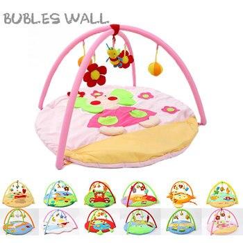 Cartoon Soft Baby Play Mat Kids Rug Floor Mat Boy Girl Carpet Game Mat Baby Activity Mat For Children Educational Toy