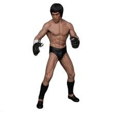 19Cm Bruce Lee Vechten Versie Pvc Action Figure Toy Doll Brinquedos