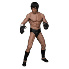 19cm Bruce Lee Fighting Version PVC Action Figure Toy Doll Brinquedos