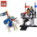 Bloques de construcción enlighten knights castle series faro set figuras niños juguetes educativos lepin compatible