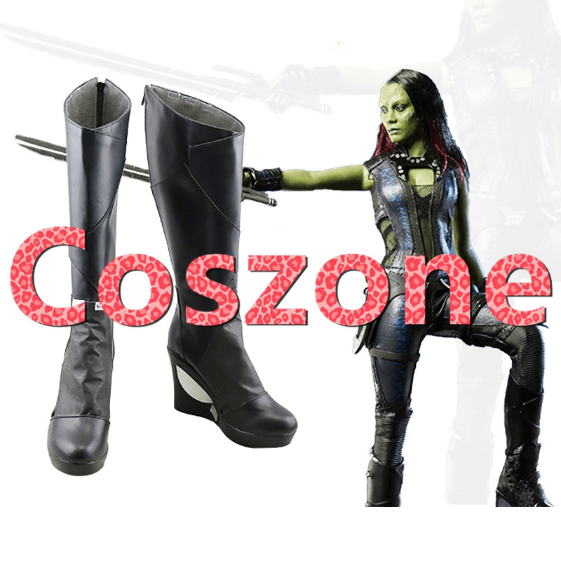 Guardians of the Galaxy Gamora Cosplay Shoes Boots Halloween Carnival Cosplay Costume Accessories