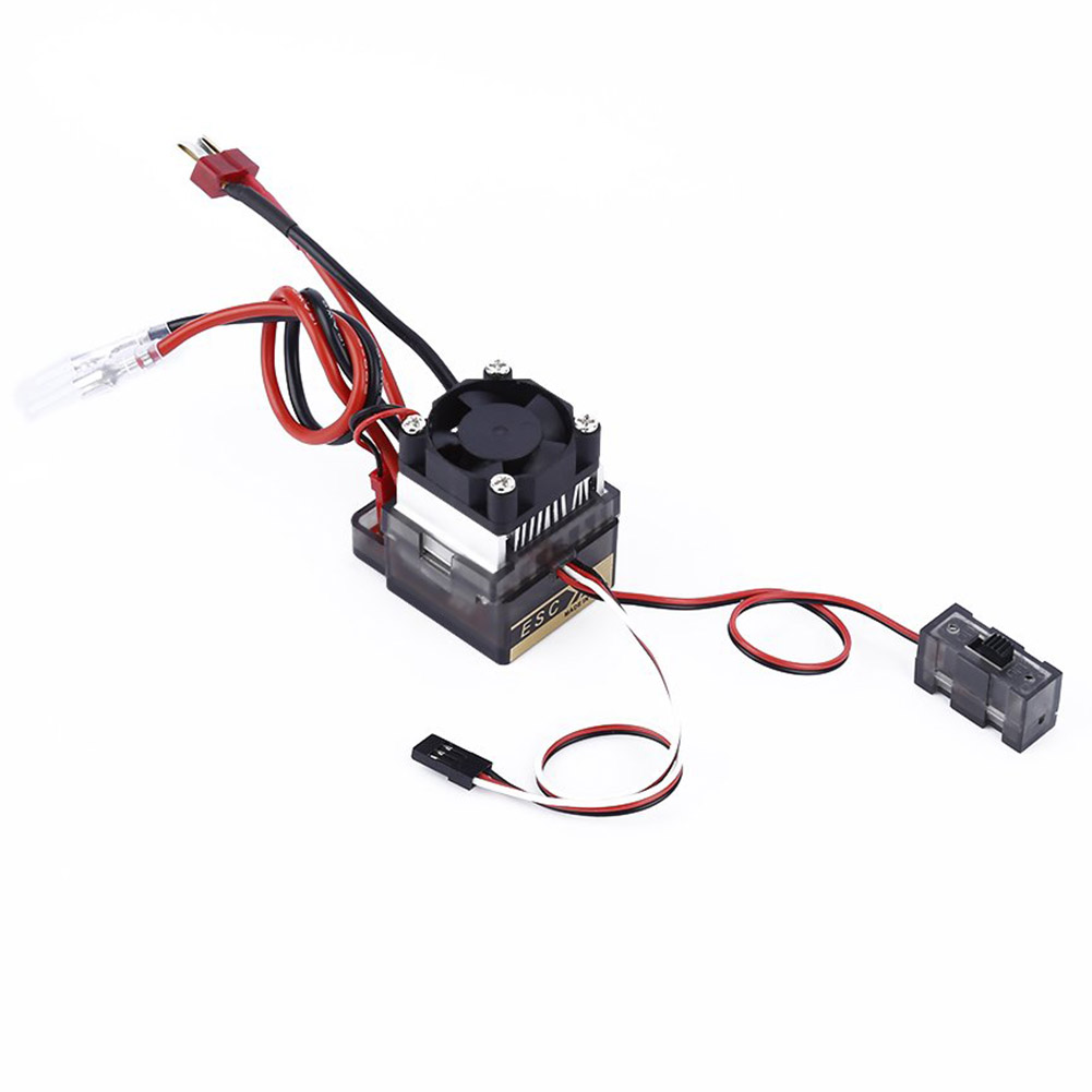 320A High Voltage Brush ESC Speed Controller for 4WD RC On-road Car Truck