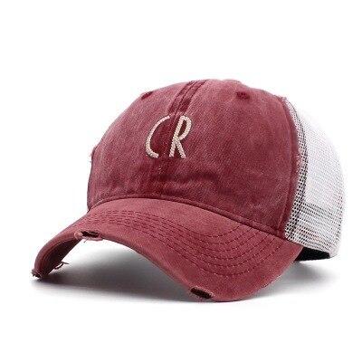 Wine red Black trucker hat 5c64fecf9ec60