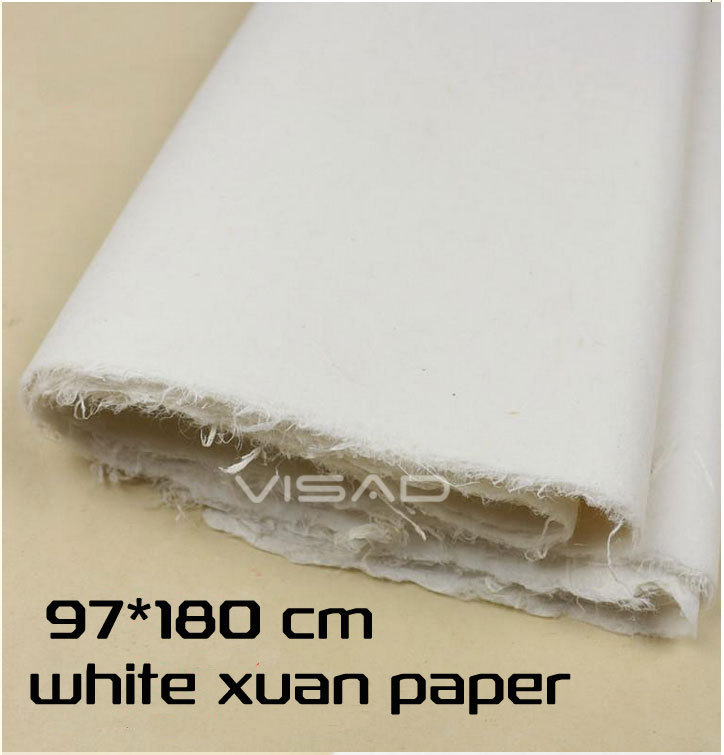 Chinese xuan paper, rice paper, 87 * 180cm half-cooked painting paper, for calligraphy and painting dear judas reissue 9 87 paper