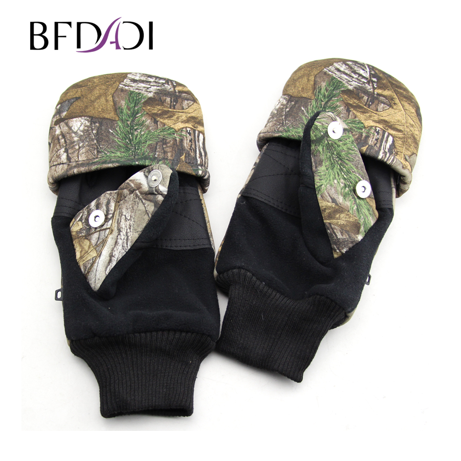 BFDADI 2019 <font><b>Winter</b></font> Handschuhe <font><b>Military</b></font> Armee Paintball Schießen Airsoft Kampf Anti-Skid Gummi Harte Knuckle Volle Finger Handschuhe image