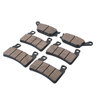 6 PCS Motorcycle Rear Front Brake Pads For HONDA CBR 600 F4 F4i Sport 1999 2004