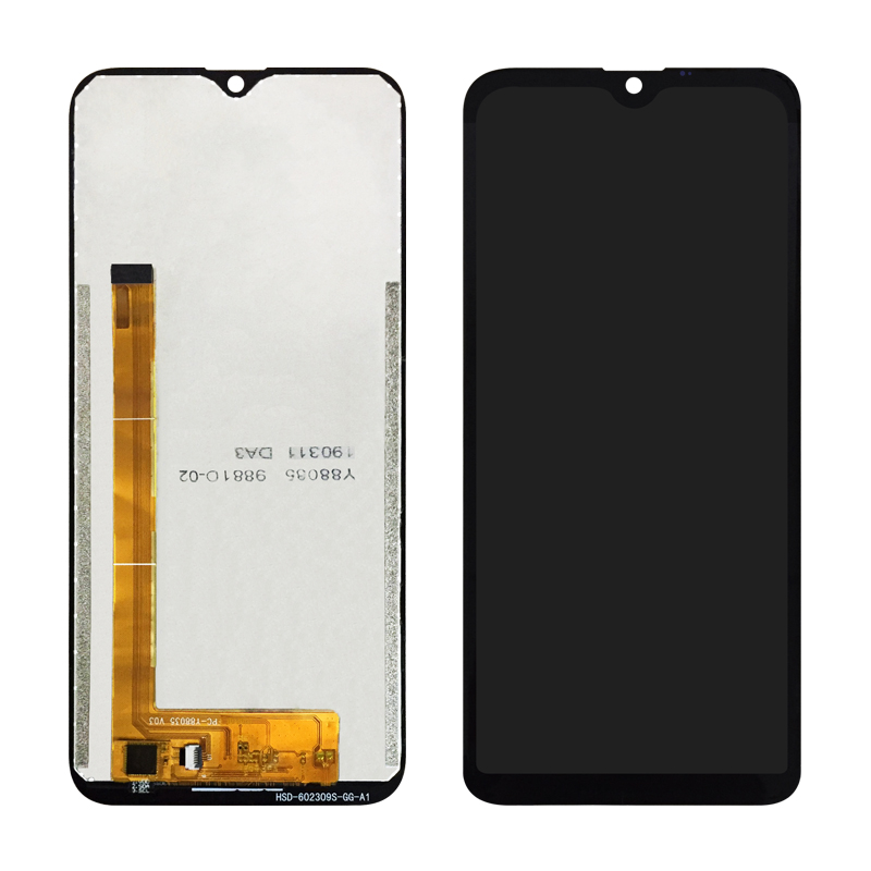 WEICHENG Top Quality 6 1 inch for Doogee Y8 LCD Display and Touch Screen Assembly Repair Part Mobile Accessories Free Tools in Mobile Phone LCD Screens from Cellphones Telecommunications
