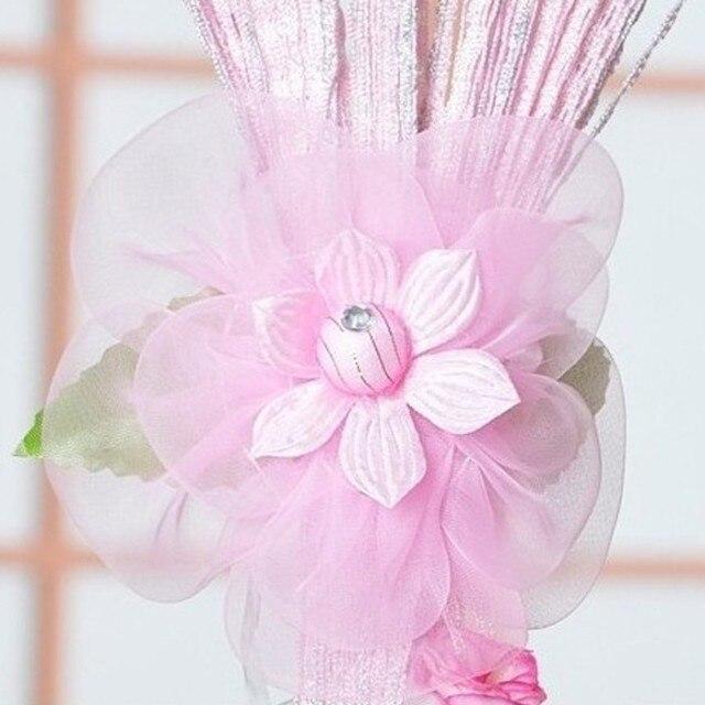 Doprava zdarma - domácí výzdoba 2ks záclonová spona záclony příslušenství k závěsu Tieback korálek záclona spona na květinový pásek