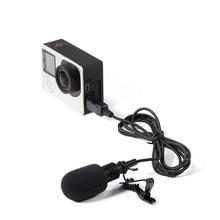 USB стерео внешний микрофон высококачественный микрофон для GoPro Hero 4 3 3+ Экшн-камера ND998