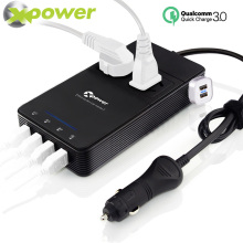 XP Car Power Inverter 12v 220v DC to AC Inversor 12 v 220 v Auto 230 Volt Voltage Converter with Air Purifier USB Charger QC 3.0