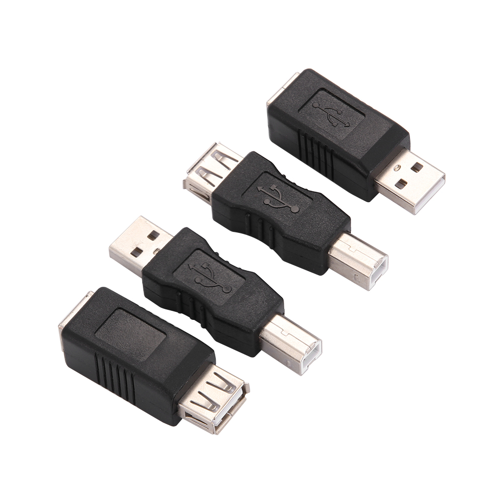2X Micro USB TypeB Female to USB2.0 Type A Male Quality Adapter Modern Converter