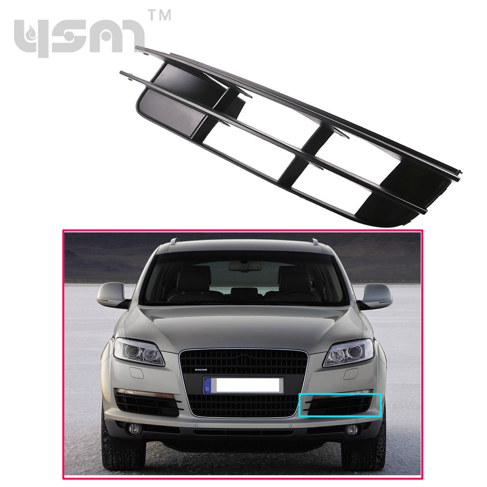 New Front Left Bumper Outer Lower Grill Grille 4L0807681 For AUDI Q7 2007-2009 4L0 807 681