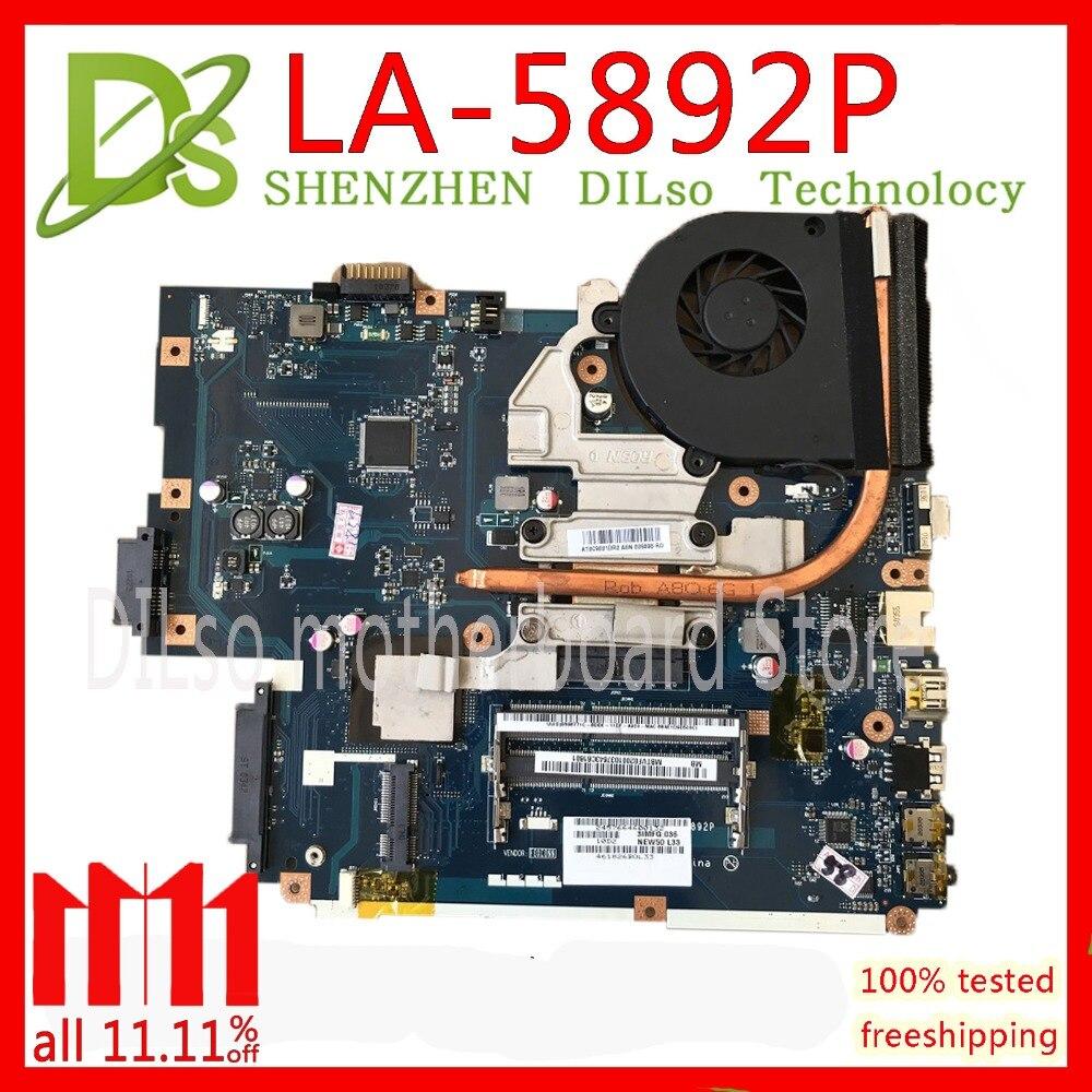 KEFU LA-5891P LA-5893P LA-5894P motherboard for Acer 5740 5741 5742 LA-5892P motherboard Test work 100% original motherboard for acer aspire 5741 5741g mb ptd02 001 mbptd02001 new71 l01 new71 la 5893p 100