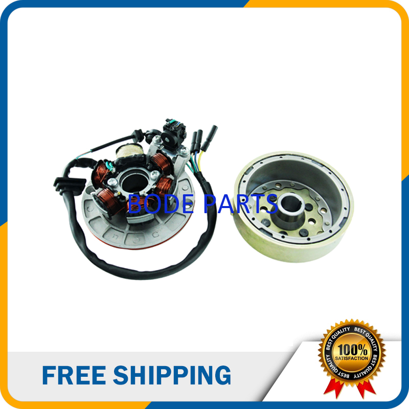 Magneto stator Generator 6 pin for Lifan Yinxiang 140cc Kick Start Engine ATV PIT Bike Motorcycle CQ-124
