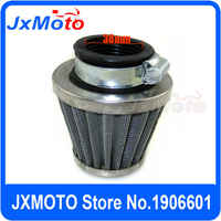 38mm Stainless Steel Pod Air Filter Fit To Pit Bike ATV Quad Between 50cc to 125cc Pit Bike Motorcross Free Shipping