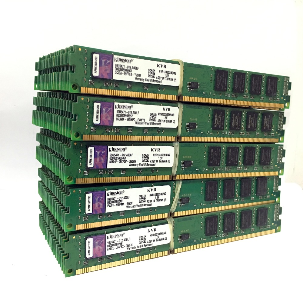 Kingston PC Memory RAM Memoria Module Desktop DDR2 DDR3 1GB 2GB 4GB 8GB PC2 PC3 667mhz  800mhz 800 1333 1600 1600mhz 1333mhz 8g 3