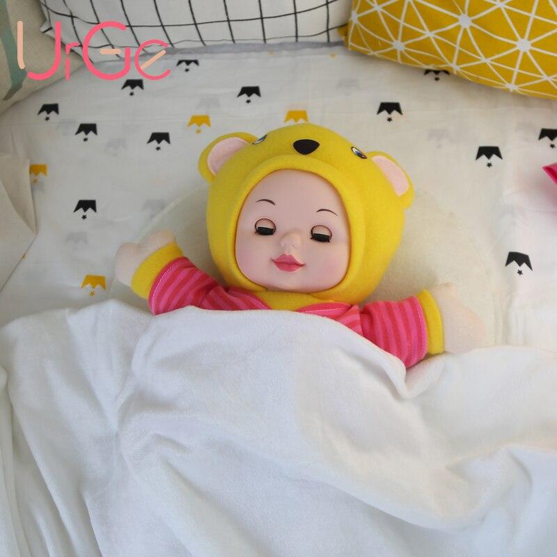 Anime mignon kawaii en peluche en peluche dessin animé enfants jouets pour enfants nounours dormir poupée bébé jouets anniversaire cadeau de Noël