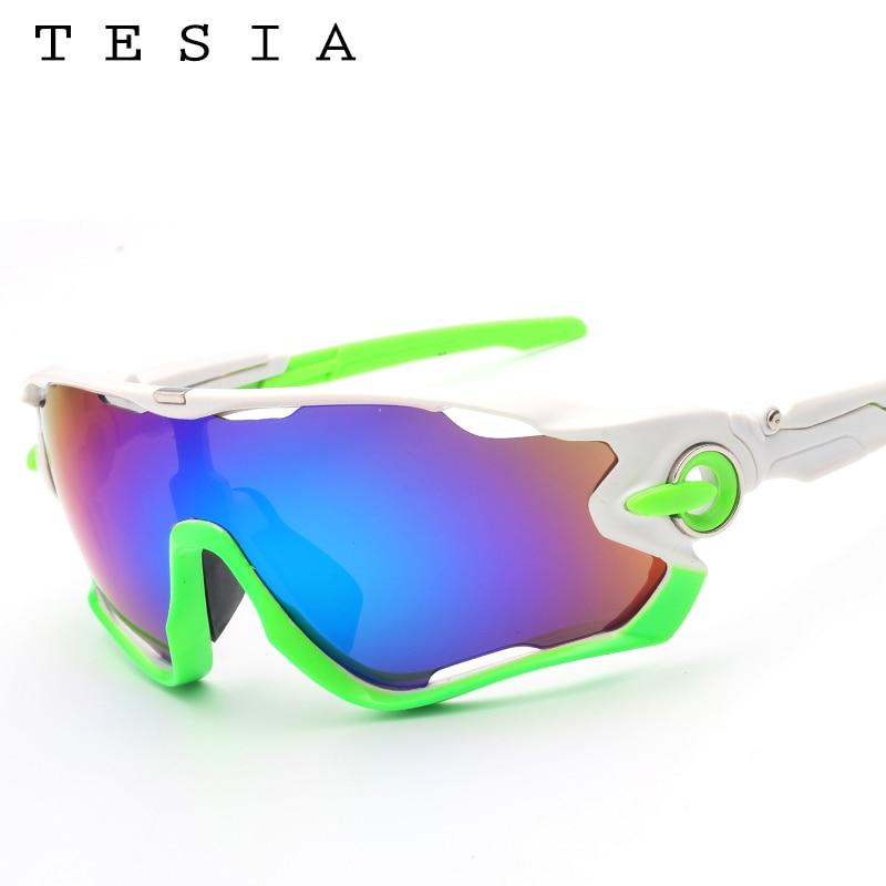 TESIA Markendesigner-Sonnenbrille-Mann-Spiegel-Gläser für das - Bekleidungszubehör - Foto 3