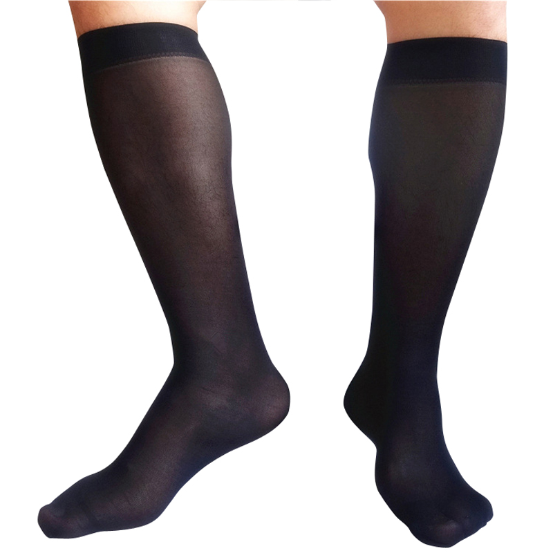 Gentlemen Silk   Socks   Sheer Thin Sexy Softy Slip Men Formal Dress Silk   Socks   Gay Male Sexy Silk   Socks   Brand   Socks