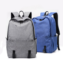 Simple Canvas Backpack Male High Quality School Bag Laptop Backpack Female Travel Men Bagpack Casual Stachels Rucksack Mochila muzee canvas male backpack high capacity travel bag 15 6 inch laptop backpack men school bag rucksack mochila drop shipping