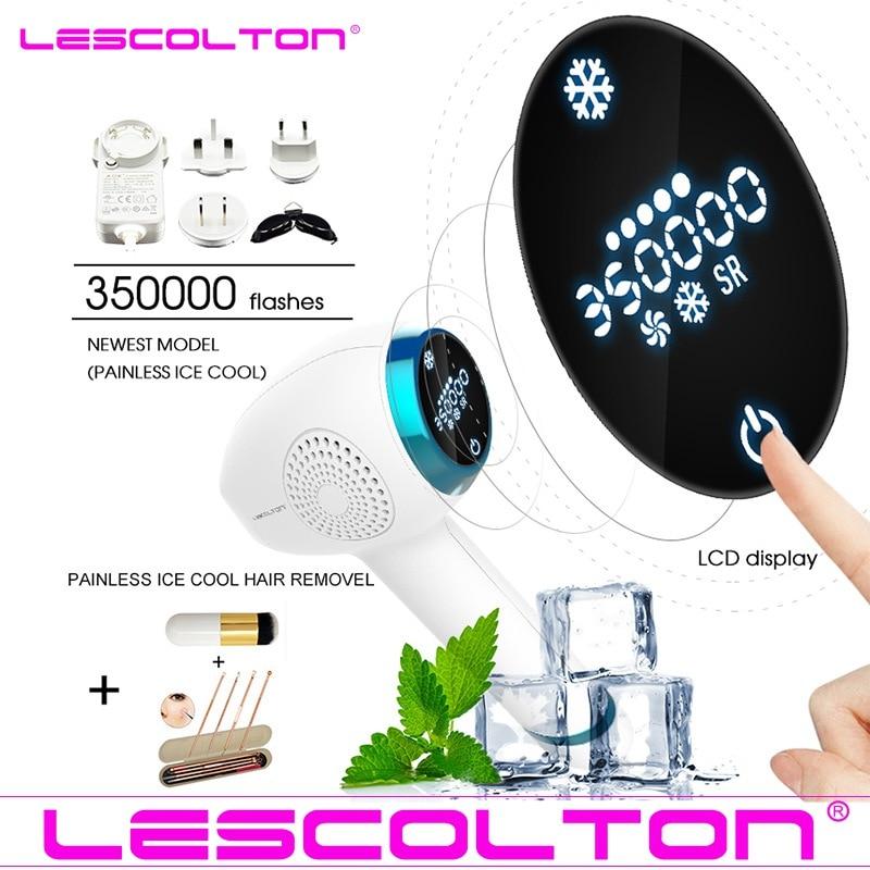 Lescolton Newest IPL Hair Removal ICE Cold Epilator Permanent Laser for Home Bikini Trimmer Electric Photorejuvenation