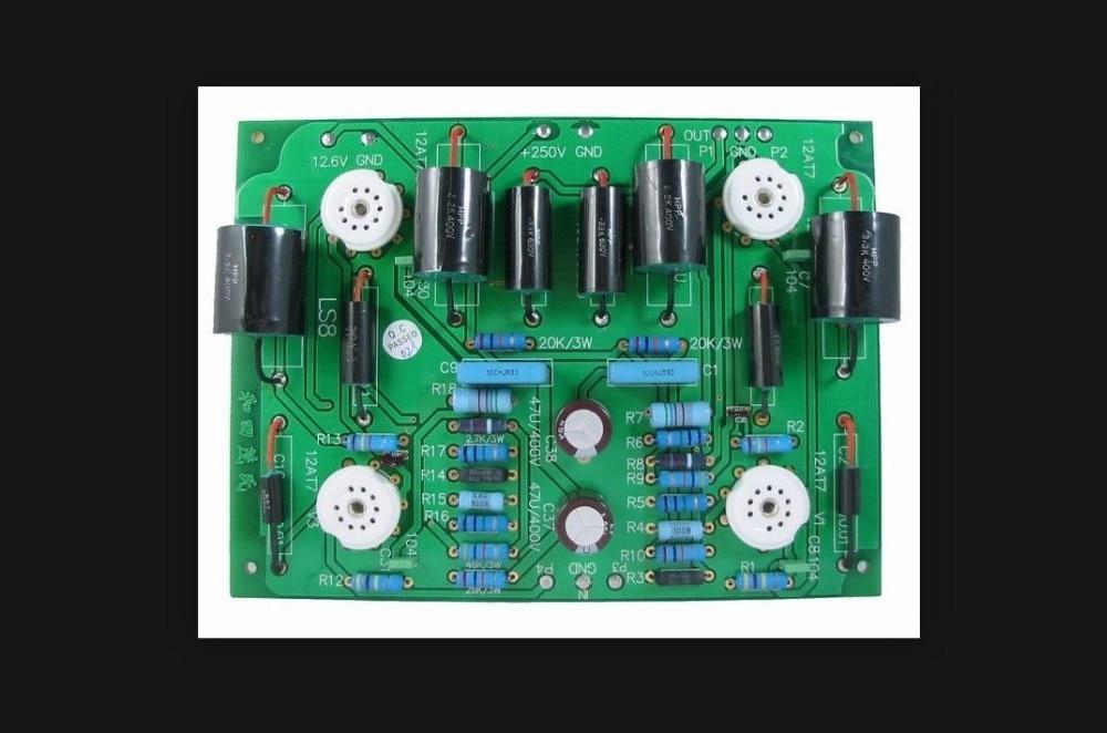 LITE LS8 Preamp Board Wo Tian Maoshi Preamp Board 12AT7 x 4|board|board board|  - title=