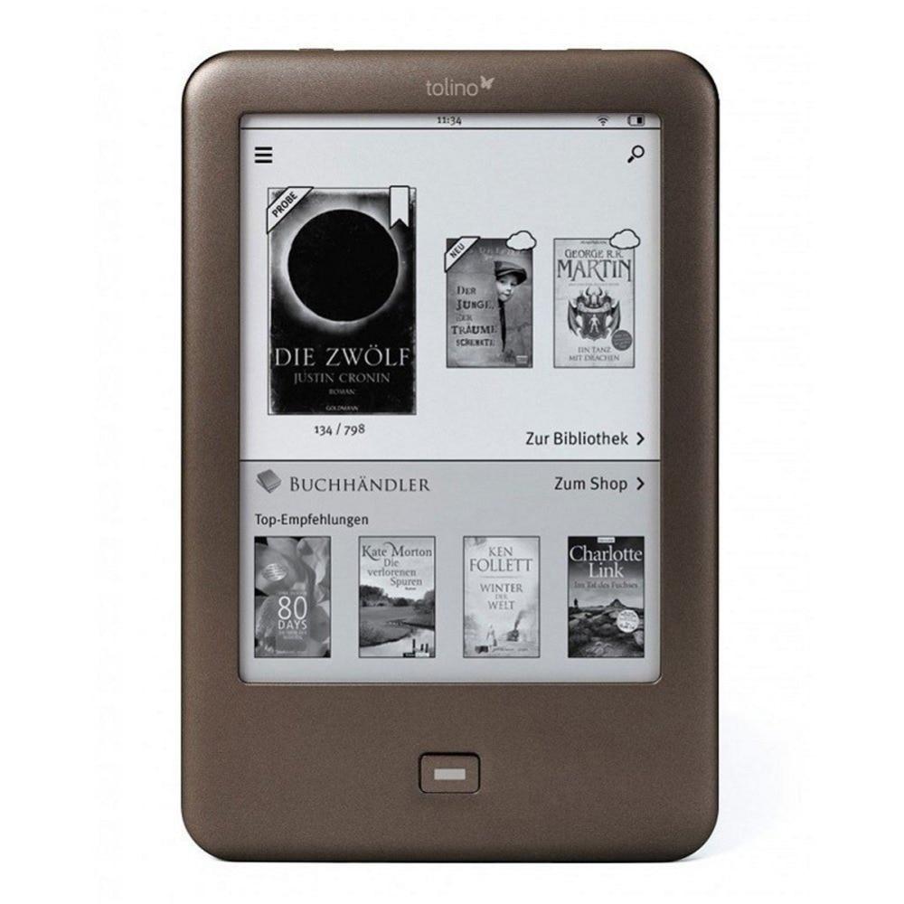 все цены на Tolino Shine eReader e-ink Light eBook Reader WiFi e-book 6 inch Touch Screen 1024x758 electronic Book 4GB онлайн