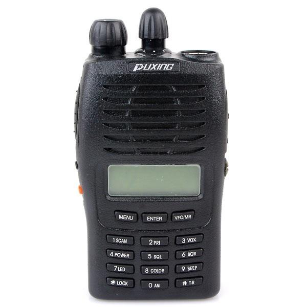 Puxing PX-777 (или плюс) двухстороннее радио УВЧ или УКВ портативная рация трансивер и мульти-Функция 128 channel 5 Вт, ЖК-дисплей displlay