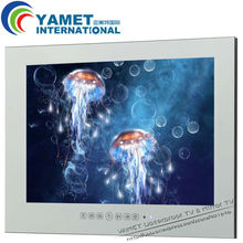 22 pulgadas baño TV/waterproof LED TV/espejo de baño TV
