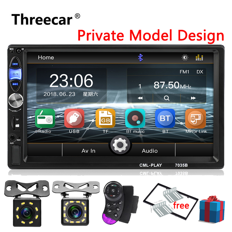 2 Din Car Radio Bluetooth mirrorlink 2din Car Multimedia Player 7HD Touch Autoradio MP5 USB Audio Stereo for Rear View Camera2 Din Car Radio Bluetooth mirrorlink 2din Car Multimedia Player 7HD Touch Autoradio MP5 USB Audio Stereo for Rear View Camera