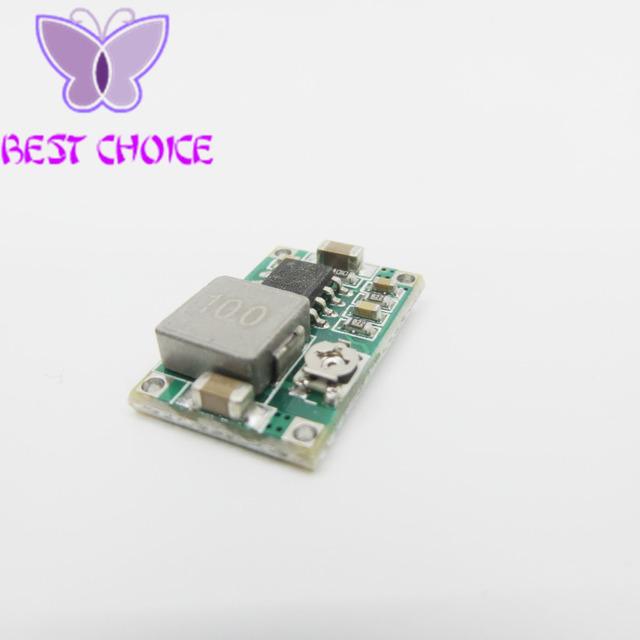RC Airplane Module Mini 360 DC Buck Converter Step Down Module 4.75V-23V to 1V-17V 17x11x3.8mm New LM2596 2A