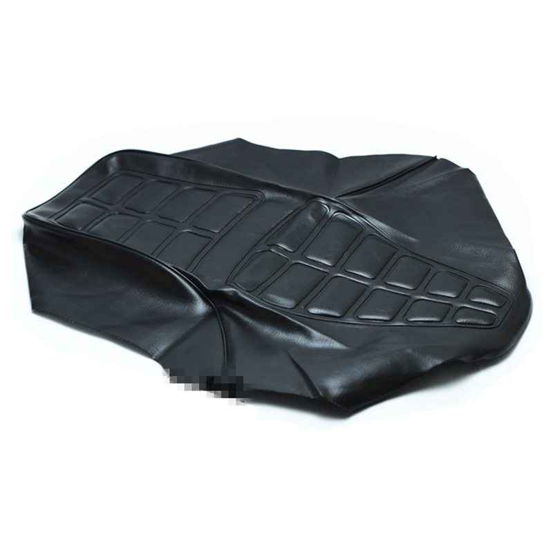 motorcycle good quality water proof GN125 seat cover in black color for Suzuki 125cc GN 125 seat spare parts(China)