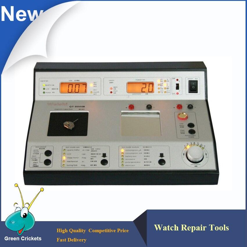 Montre à Quartz multifonction de QT-8000 testant le chronomètre pour la réparation de montre d'horloger