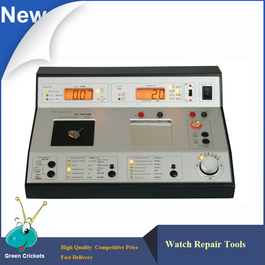 QT-8000 Multi-Function Quartz Watch Testing Timing Timegrapher for watchmaker watch repair  цены