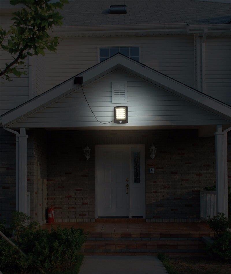 garagem Solar Da Lâmpada Do Jardim Ao