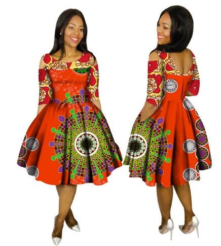 Robe Africaine Promotion Cotton African Dresses For Women ...