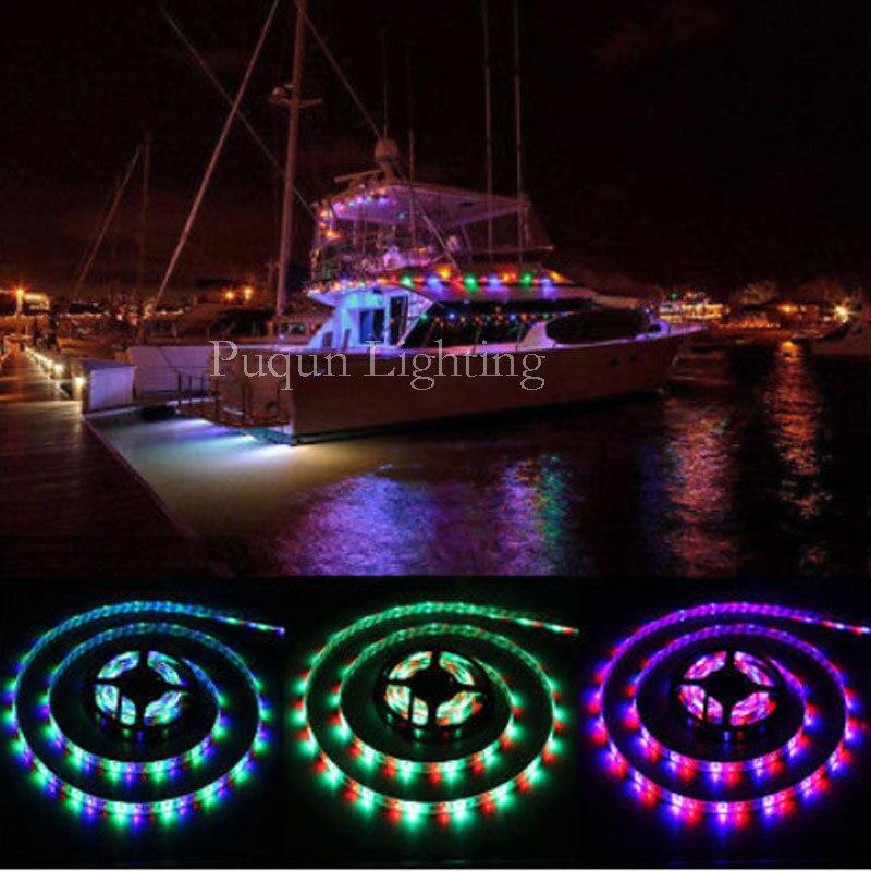 RV LED Camper Awning Boat Light Set w/IR Remote Music RGB 16' 3528 Waterproof rv 213 фигурка дама полицейский w stratford