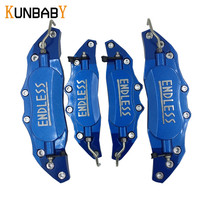 KUNBABY 4PCS Sets ENDLESS Caliper Cover Aluminum Alloy Brake Caliper Covers Front Rear Decoration Car Styling