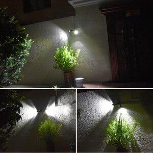 Image 5 - סופר מואר 14 LED עמיד למים PIR חיישן תנועת שמש מופעל אור, led שמש אורות גן אבטחת מנורת חיצוני רחוב אור
