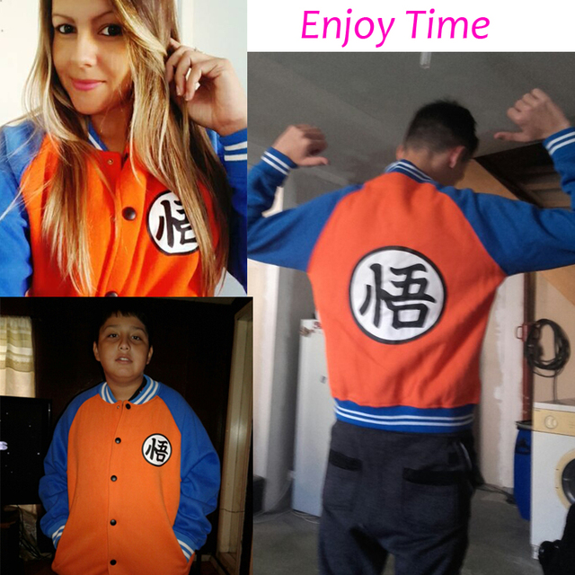 Dragon Ball Z Bomber Jacket (3 types)