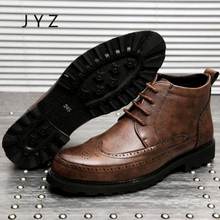 New Fashion Mens Ankle Boots Dress Shoes Lace Up Oxfords Chelsea Man Size 45 men0041