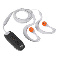 Best Price Sports 4GB Clip Waterproof IPX8 Mp3 Player FM Swimming Diving + Earphone Black