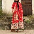 2015 Зима Женщины Ватные Куртки Верхняя Одежда Плюс Размер дракон халат Случайные Вниз Хлопка Ватные Пальто Женщин Parkas3 цвета