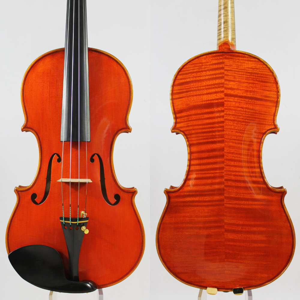 Maître Violon violino! Copie d'identité! Guarneri del Gesù Le Canon 1743! Forte et Profonde ton! Livraison Gratuite! Aubert Pont! NO: 3