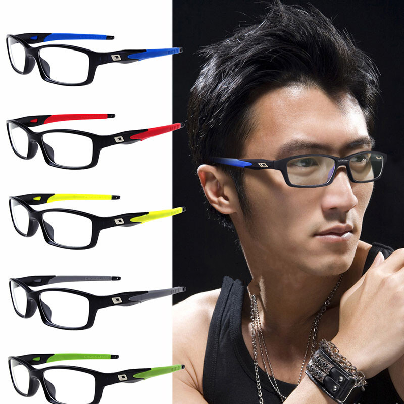 Nerzhul Sports Male Eyeglasses Frame Prescription Eyewear Spectacle Frame Glasses Transparent Optical Eye Glasses Frames For Men image