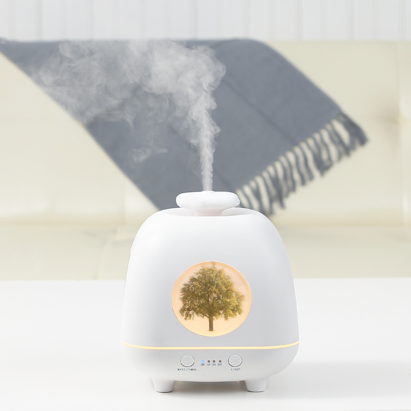 Difusor do Óleo Essencial de Aroma Umidificador de ar para Casa Emissor de Luz Maker com 4 Branco Tomada Mist Cooling Purifier Névoa 7 Cores Diodo Air