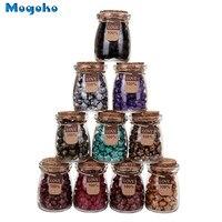 Mogoko cerca de 120 Peças Estrela Da Sorte Forma Lacre Beads com 1 peça Colher e 2 pcs Velas De Fusão De Cera para Selo De Cera Selo