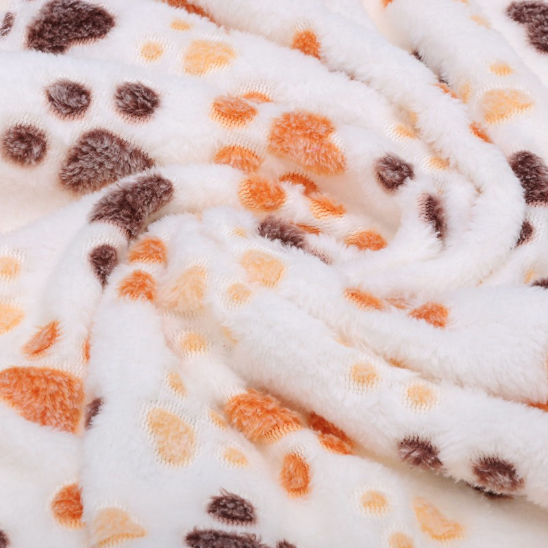 Cute Paw Prints Dog Bedding